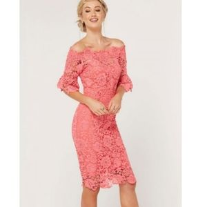 NWT ASOS | Off-the-Shoulder Lace Dress